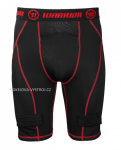 SUSPENZOR WARRIOR NUTT HUTT ICE JOCK SHORT RED JR