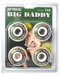 IN LINE 4KS SET KOLEČKA BASE BIG DADY 80mm 74A (INDOOR)