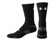 Hokejové Ponožky Under Armour set 3ks Heatgear Crew Black