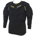 VAUGHN PADDED GOALIE COMPRESSION SHIRT SLR2 black senior